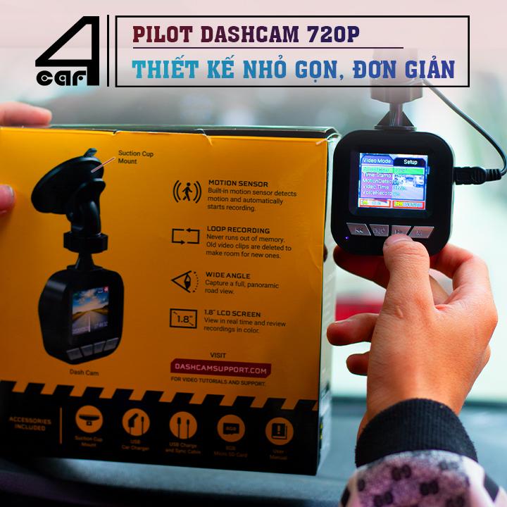 Lắp đặt camera hành trình 720